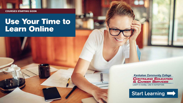 Courses starting soon. Use your time to learn online. Start Learning.